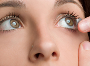 Contact Lens Exam Step 5: Fit Your With Trial Contact Lenses