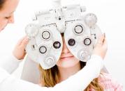 Eye Exam Step 4: Refraction