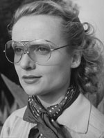 Actress Carol Lombard in Vintage Sunglasses