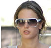 Victorias Secret Model Alessandra Ambrosio in Badgley Mischka Sunglasses