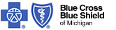 Blue Cross Blue Shield Michigan Blue Vision by VSP Logo
