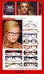 Image of Lafont Eyeglass Frames Featured in Elle Magazine France