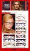Image of Lafont Eyeglass Frames Featured in Elle Magazine France