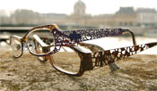 Image of Lafont Borgia and Baroque Eyeglasses