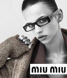 Miu Miu 2009-10 Fall Eyewear Campaign