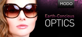 Eco Eyewear: Earth Conscious Optics by Modo