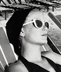 Grace Kelly in White Sunglasses (now vintage)