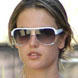 Image of Alessandra Ambrosio in Badgley Mischka Boyd Sunglasses