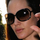 Image of Angelina Jolie in Tom Ford Raquel Sunglasses Sunglasses