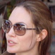 Image of Angelina Jolie in Tom Ford Delphine Sunglasses
