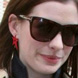 Image of Anne Hathaway in Tom Ford Dahlia Sunglasses TF0127