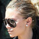 Image of Ashley Olsen in Tom Ford Hawkings Aviator Sunglasses Sunglasses