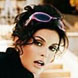 Image of Teri Hatcher in Badgley Mischka Sunglasses