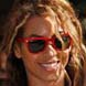 Image of Beyonce in Red Ray-Ban Wayfayer  Sunglasses