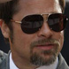 Image of Brad Pitt in Tom Ford Pablo TF132-53F Sunglasses