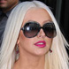 Image of Christina Aguilera in Oliver Peoples Sofiane 2 Sunglasses