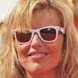 Image of Eva Herzigova in White Ray-Ban Wayfayer Sunglasses