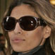 Image of Eva Mendes in Chloe Sunglasses
