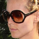 Image of Heidi Klum in Tom Ford Jaquelin Sunglasses