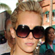 Image of Hilary Duff in Oliver Peoples Tayla Sunglasses