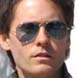 Image of Jared Leto in Ray Ban Silver Aviator Sunglasses