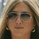 Image of Jennifer Aniston in Ray-Ban RB3025-LO205 Aviator Sunglasses