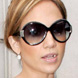 Image of Jennifer Lopez in Oliver Peoples Harlot Sunglasses