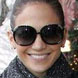 Image of Jennifer Lopez in Chloe Myrte Sunglasses