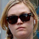 Image of Julia Stiles in Tom Ford Mackenzie Sunglasses