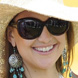 Image of Kate Hudson in Tom Ford Veronique Sunglasses