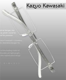 Kazou Kawasaki Eyeglasses & Eyewear