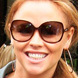 Image of Kimberly Walsh in Tom Ford Patek Sunglasses