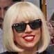 Image of Lady Gaga in Ray-Ban Wayfarer Sunglasses