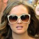Image of Leighton Meester in Chloe Tilia Sunglasses