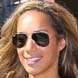 Image of Leona Lewis in Ray-Ban Aviator Sunglasses