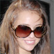 Image of Miley Cyrus in Oliver Peoples Chelsea Sunglasses