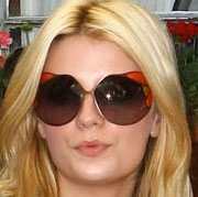 Image of Mischa Barton in Miu Miu 66HS Sunglasses