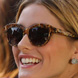 Image of Olivia Palermo in Tom Ford Anouk Sunglasses