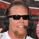 Image of James Hetfield in Prada 07FS Sunglasses