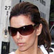 Image of Eva Langoria in Prada 54G Sunglasses