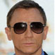 Image of Daniel Craig in Prada Aviator Sunglasses