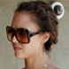 Image of Jessica Alba in Prada 19IS Sunglasses