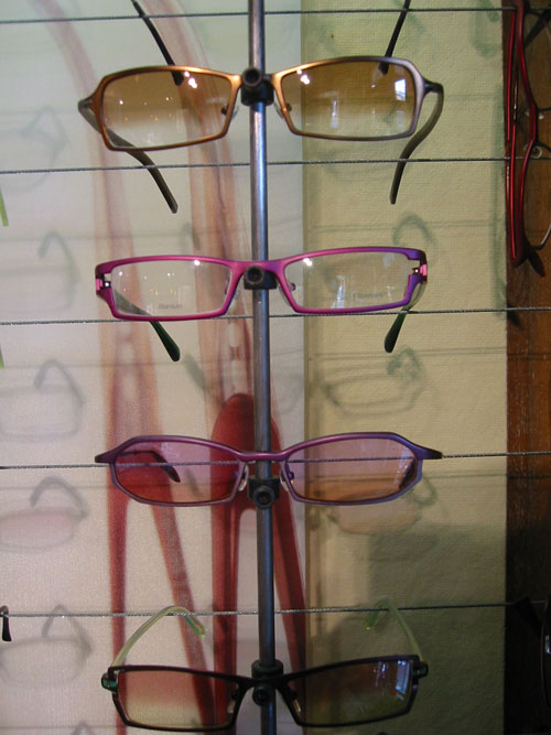 ProDesign Sunglasses with Custom Tints in Violets and Browns