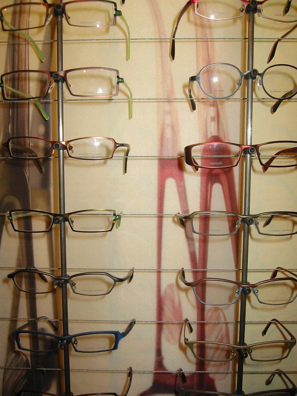 Eyeglasses display - Prodesign Denmark Eyeglasses In Round And Rectangular Frames