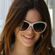 Image of Rachel Bilson in Chloe Tilia Sunglasses