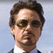 Image of Robert Downey Jr. in Iron Man in Ray-Ban RB3320 Aviator Sunglasses