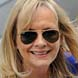 Image of Twiggy in Ray-Ban RB2035-LO205 Aviator Sunglasses