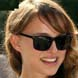 Image of Natalie Portman in Ray-Ban Wayfarer Sunglasses