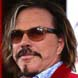 Image of Mickey Rourke in Ray-Bay RB2132 Wayfarer Sunglasses