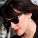 Image of Liv Tyler in Ray-Ban Wayfarer RB2140 Sunglasses